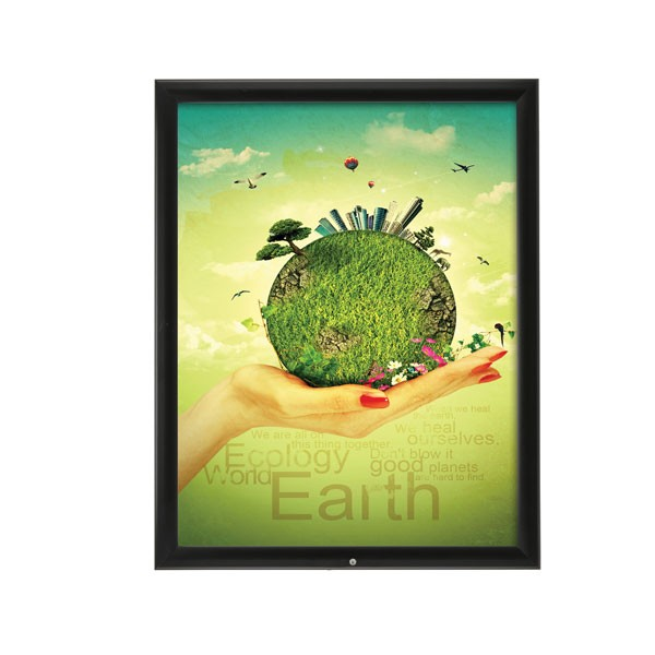 Lockable Outdoor Frame 22\'\' X 28\'\' Poster Size 1.38\
